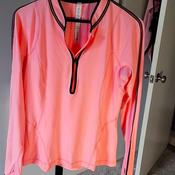 Lululemon Coral Pink Athletic Jacket